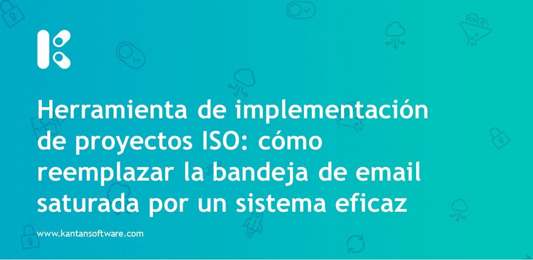 Herramienta de implementación de proyectos ISO
