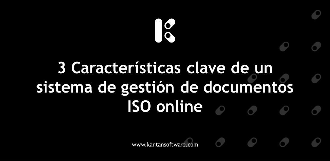 sistema de gestión de documentos ISO online