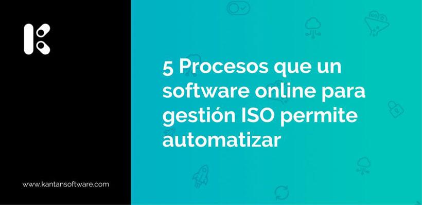 software online para gestión ISO