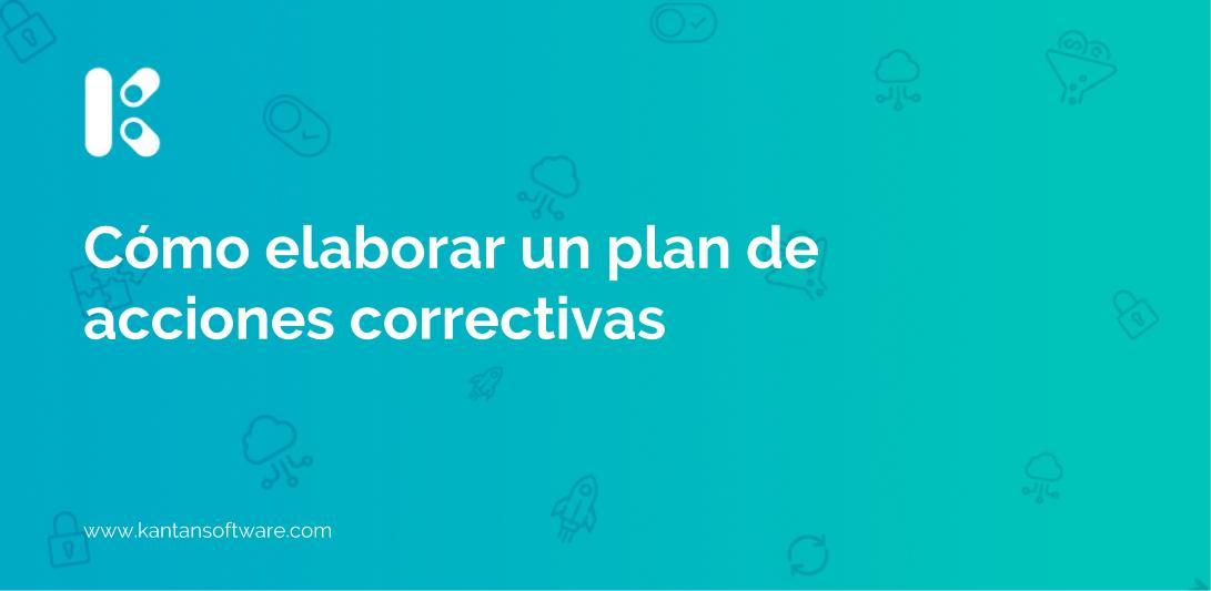 plan de acciones correctivas