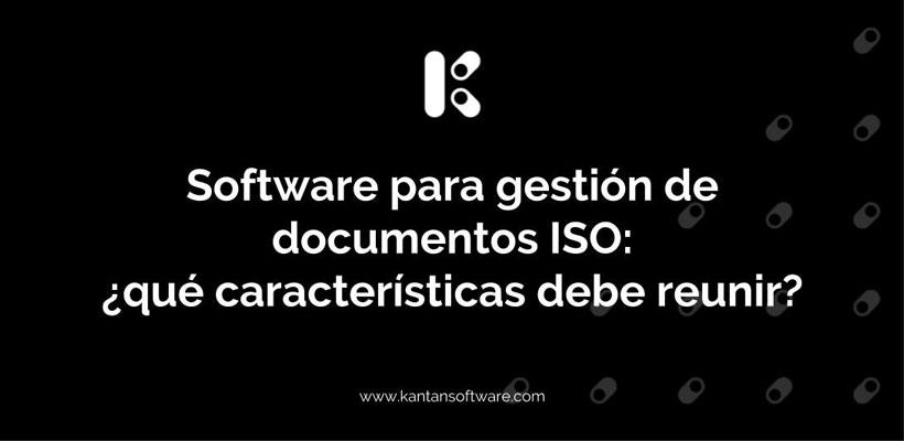 Software para gestión de documentos ISO