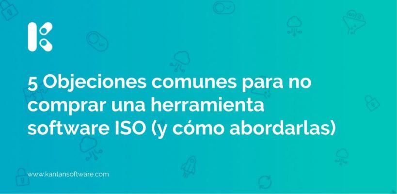 herramienta software ISO
