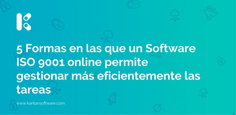 Software ISO 9001 online
