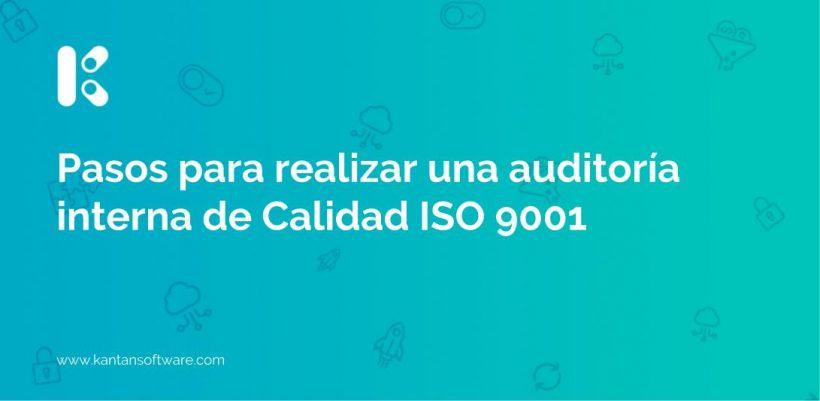 realizar una auditoría interna de Calidad ISO 9001