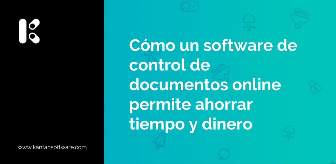 software de control de documentos online