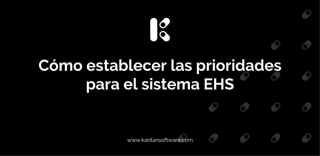 establecer las prioridades para el sistema EHS