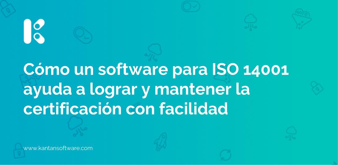 software para ISO 14001