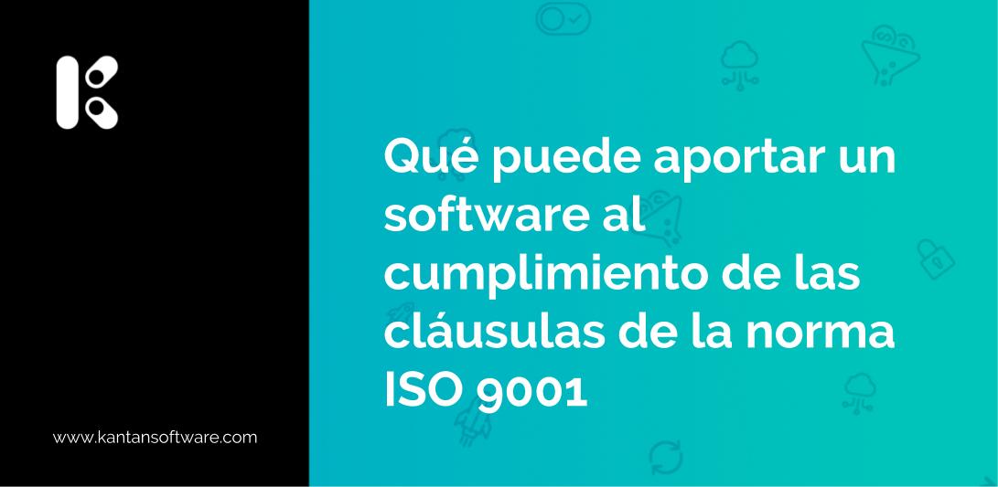 cumplimiento de las cláusulas de la norma ISO 9001