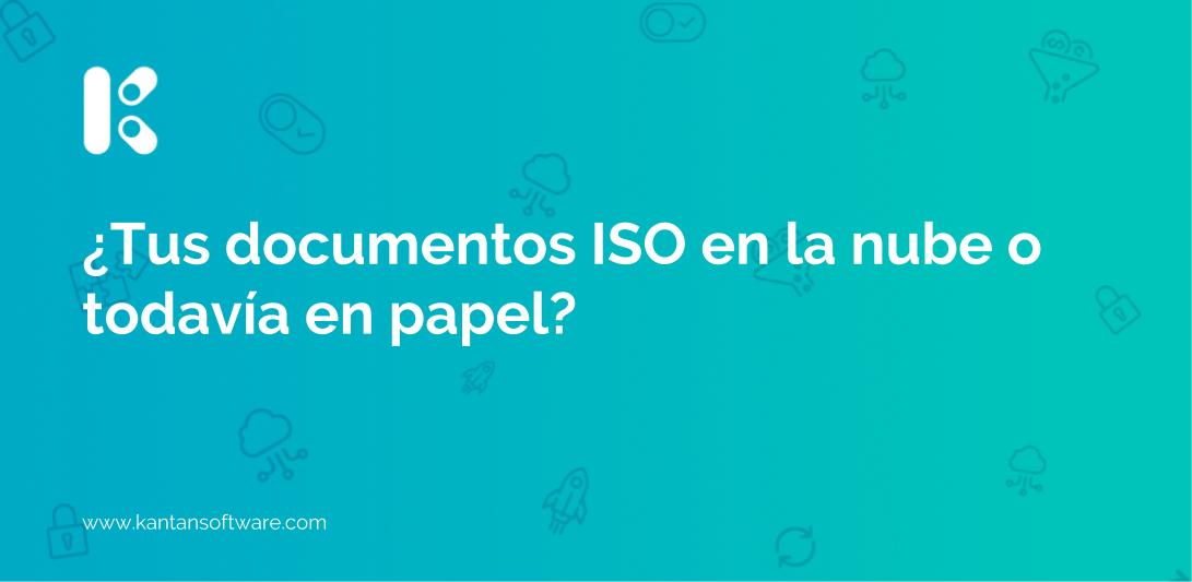 documentos ISO en la nube