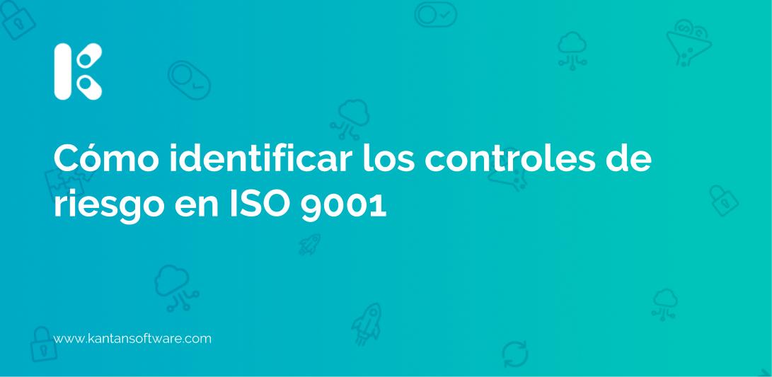 controles de riesgo en ISO 9001