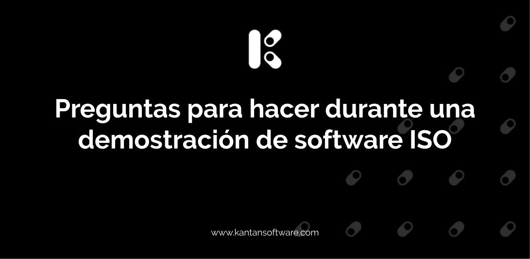 demostración de software ISO