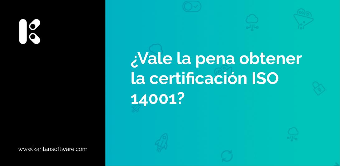 obtener la certificación ISO 14001