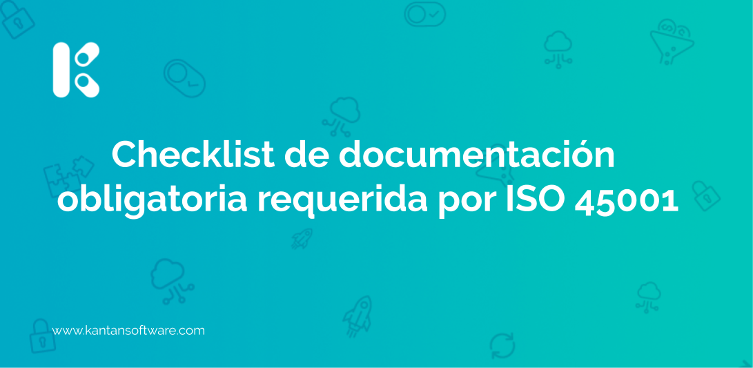 documentación obligatoria requerida por ISO 45001