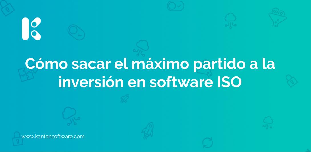 inversión en software ISO