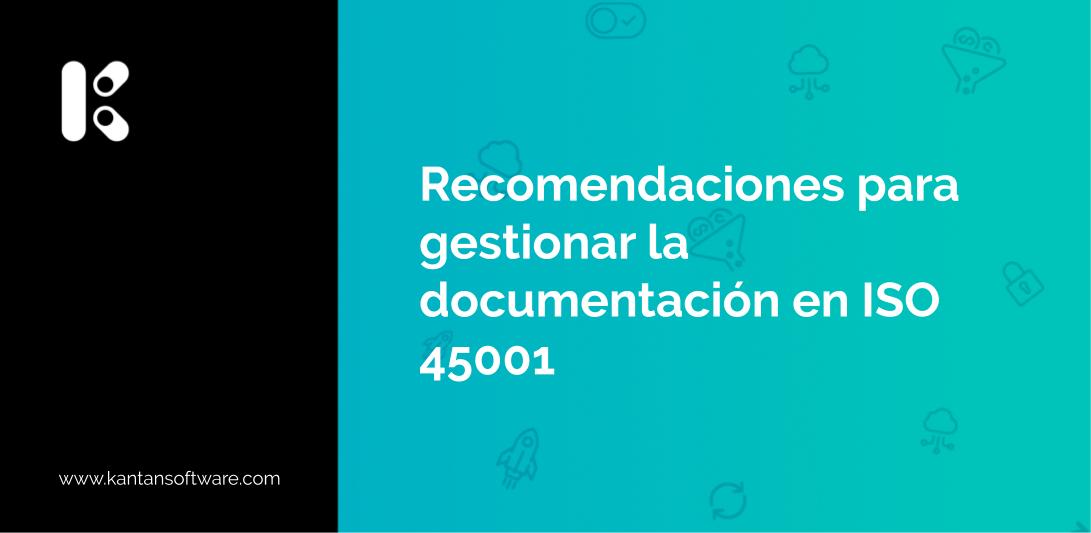 documentación en ISO 45001
