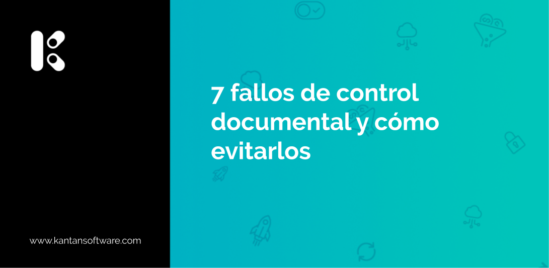 fallos de control documental