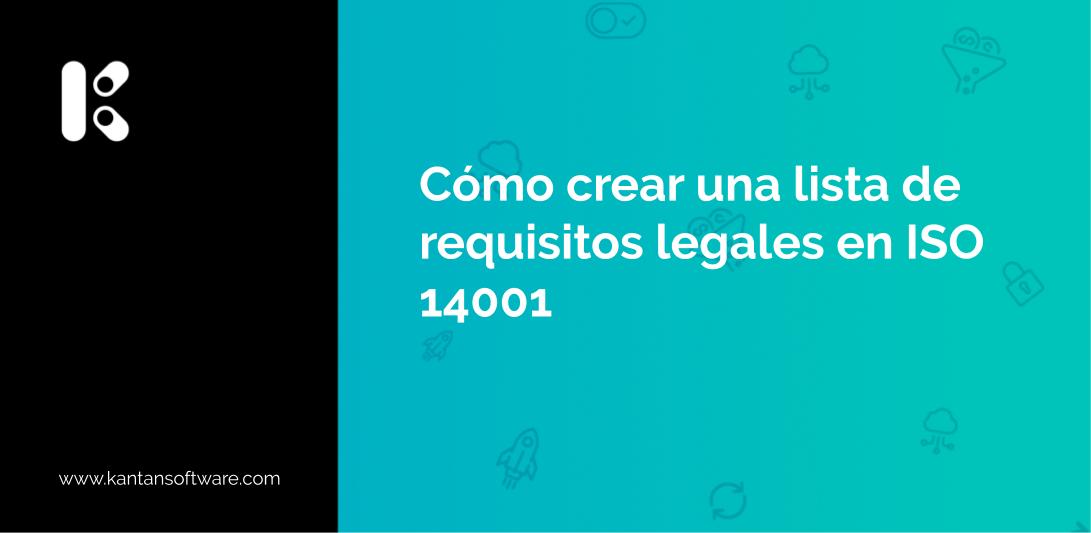 requisitos legales en ISO 14001