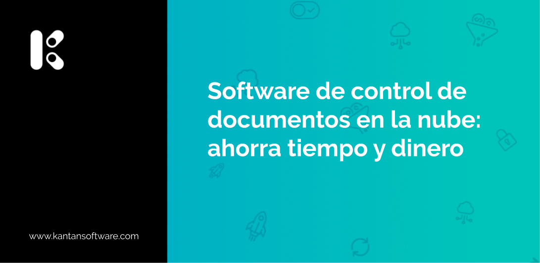 Software de control de documentos en la nube