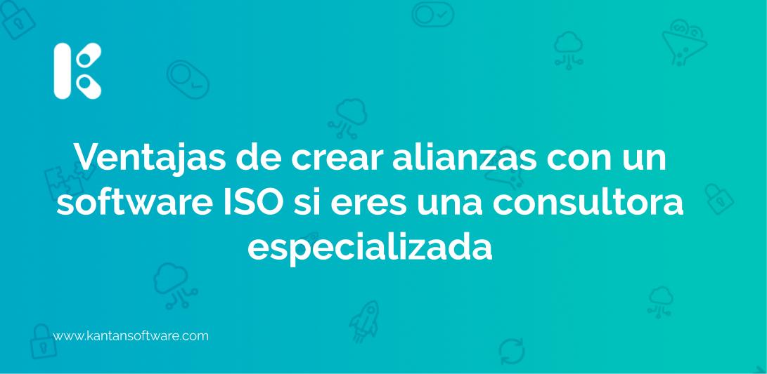 crear alianzas con un software ISO