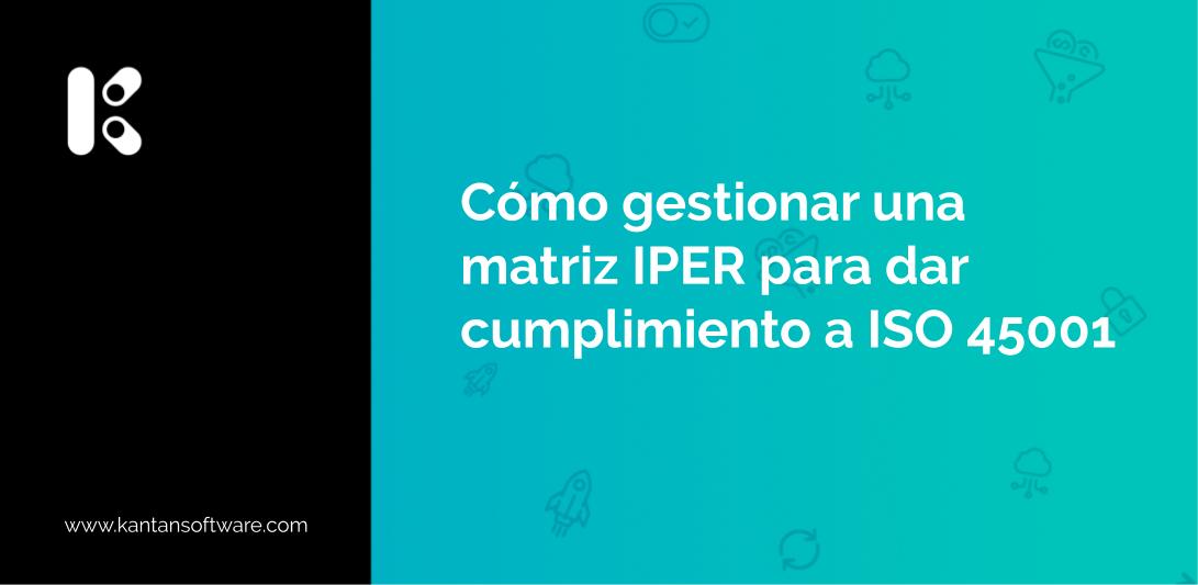 gestionar una matriz IPER