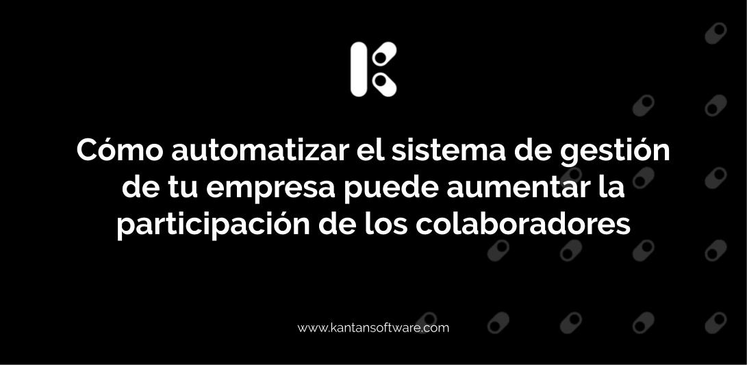 automatizar el sistema de gestión