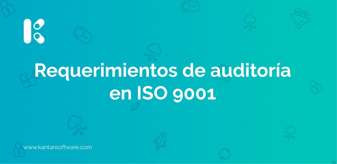 auditoría en ISO 9001